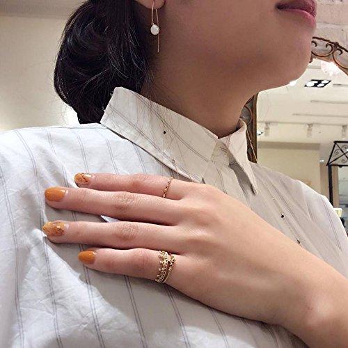 [ノジェス]NOJESS【K10ゴールドクラウンダイヤモンドピンキーリング】3015311100400003日本サイズ3号
