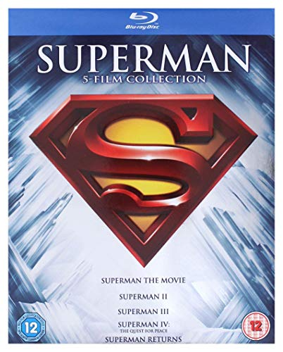Superman Complete Collection (5-disc Edition) [Blu-ray] [1978][Region Free] (Packaging may Vary)