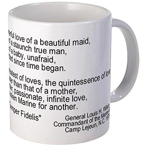 CafePress - USMC Geburtstagsgedicht - Einzigartige Kaffeetasse, Kaffeetasse, Teetasse