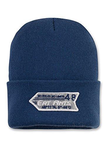 Sanetta Jungen 161950 Mütze, Blau (Sea Blue 5984), 54 (Herstellergröße: 2)