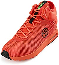 Zumba Sneakers High-Top Dance Shoes for Women Coral Air Classic Size 6