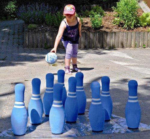 Bowling Kegel Kegelspiel Soft Kegelspiel 12 Set