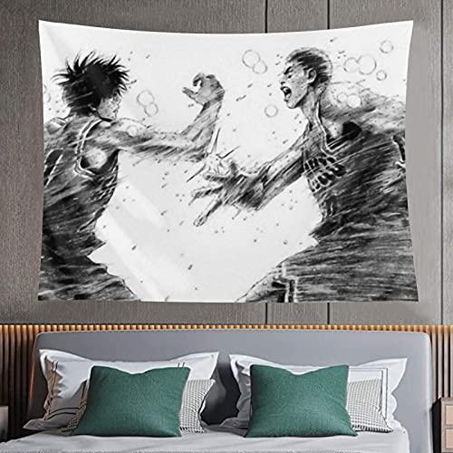 Tapiz de moda resistente al desgaste Slam dunk impresión 3D Tapiz decorativo pared arte el dormitorio Decoración Tapiz