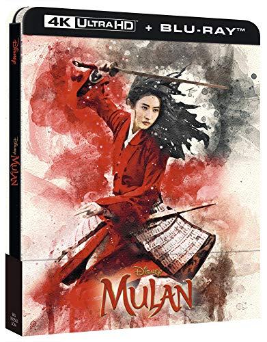 Mulan (Live-Action) - 4K Ultra HD Exklusiv Steelbook Edition inkl. Deutscher Tonspur + Blu-ray