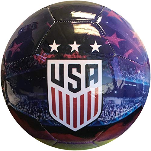 Icon Sports Group U.S. Soccer USWNT Official Size 5 Soccer Graphic Player Ball
