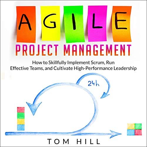 Agile Project Management audiobook cover art