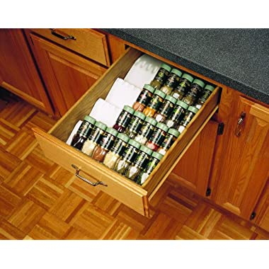 Rev-A-Shelf Trimmable Spice Drawer Insert Almond