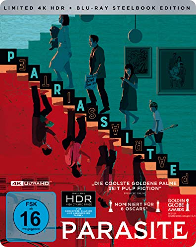 Parasite Steelbook [4K Ultra HD] (exklusiv bei Amazon.de) [Blu-ray] [Limited Edition]