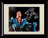 Framed RIC Flair Autograph Replica Print - Nature Boy