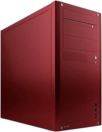 アビー abee PCケース smart J07R 静音ATXミドルタワー レッドアルマイト SME-J07R-RE