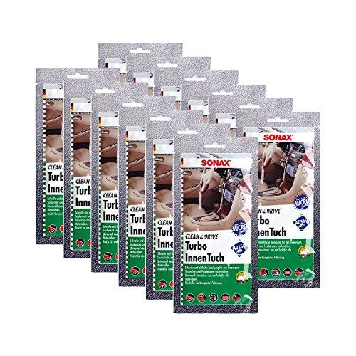 SONAX 12x 04130000 Clean&Drive TurboInnenTuch 40x50 1 Stück