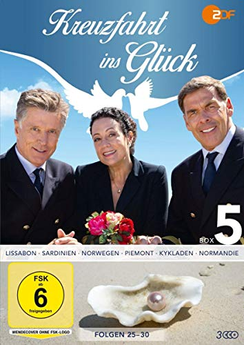 Kreuzfahrt ins Glück - Box 5 - Folge 25-30 [3 DVDs]