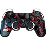 Skinit Decal Gaming Skin for PS3 Dual Shock Wireless Controller - Officially Licensed Marvel/Disney Deadpool Comic Design
