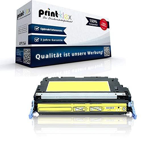 Print-Klex Kompatible Tonerkartusche für HP Color LaserJet 4700 Color LaserJet 4700DN Color LaserJet 4700DTN Q5952A Yellow Gelb