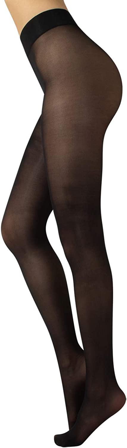 CALZITALY Sheer Woman Tights | Black, Skin | S, M, L | 20 DEN | Made in Italy