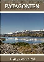 Patagonien (Tischkalender 2022 DIN A5 hoch): Trekking am Ende der Welt (Monatskalender, 14 Seiten )