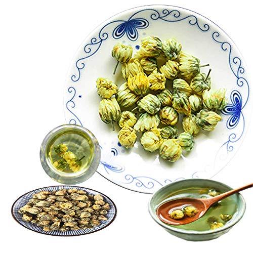 Tè alle erbe cinese Tè al crisantemo selvatico Nuovo tè profumato Tè verde Sanità Fiori Fiori Tè verde di prima qualità Sano verde Tè alle melanzane (100)