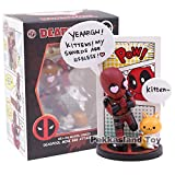 Figura de anime Deadpool Mini Egg Attack Series MEA001 ~ 006 Figura de acción de PVC modelo coleccionable juguete decoración del coche muñecas (color: F)