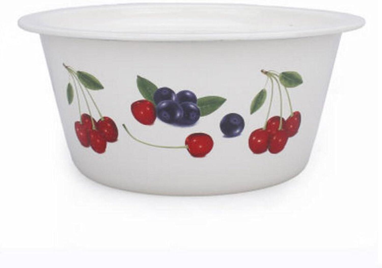 El ultimo 2018 Liuyu Liuyu Liuyu Cocina Inicio Esmalte más Grueso con cubeta de Sopa de Cubierta Sopa de Sopa de Estilo Antiguo Sopa de Sopa diámetro 26.5cm (Color   Cherry Pattern)  entrega gratis