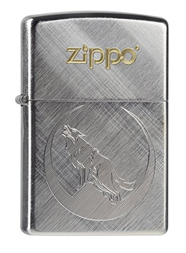 Zippo Lighter, Metal, Silver, One Size