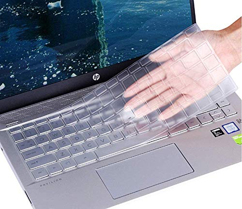 Ultra Thin Keyboard Cover for 2020 2019 HP Pavilion x360 14' Laptop 14t 14-CD 14M-BA 14M-CD 14-BF 14-BW 14-cm 14-CF Series/2019 HP Sream 14-ds0050nr 14-ds0060nr 14' Laptop Skin Accessories