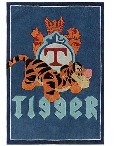 Tapis pour enfant compatible avec le Tigger de Winnie l'Ourson - Tapis pour enfants - Tapis pour enfants - Tapisserie murale - Modèle - Ce magnifique tapis pour enfant avec Winnie est dans la taille 115 x 168 cm.
