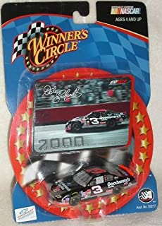 Dale Earnhardt Sr #3 Goodwrench Service Plus Monte Carlo Talladega No Bull Win 76th and Final Win of Earnhardt's Career 1/64 Scale Diecast With Photo Sticker Card Winners Circle