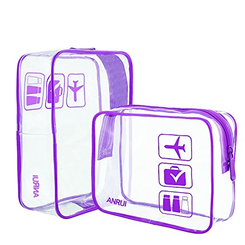 ANRUI, Trousse de toilette, violet (Violet) - ANRUI