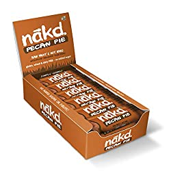 ALL NATURAL – These healthy snack bars are made with 100% natural ingredients, just fruit and nuts smooshed together! GLUTEN FREE – Nakd Pecan Pie is a delicious wheat free and gluten free fruit and nut bar. HEALTHY SNACK – One of your five a day, id...