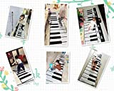 YUHT Piano Mat, Piano Music Dance Mat 8 Sonidos de Instrumentos 24 Teclas Music Piano Keyboard Blanket Touch Play Keyboard Mat para niños Toddler & rsquo; s Presents Dance Mat
