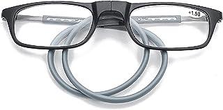 Adjustable Hanging Neck Reading Glasses Magnetic Folding Magnetic Hanging Neck Slim Reading Glasses Reading Glasses Readin...