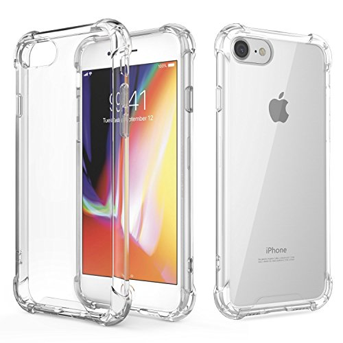 AVANA iPhone SE 2020 Hülle, iPhone 8 Schutzhülle, iPhone 7 Hülle Durchsichtige Handyhülle Case TPU Cover Kratzfest Klar Bumper Kantenschutz für Apple iPhone 7/8/SE 2020 Transparent