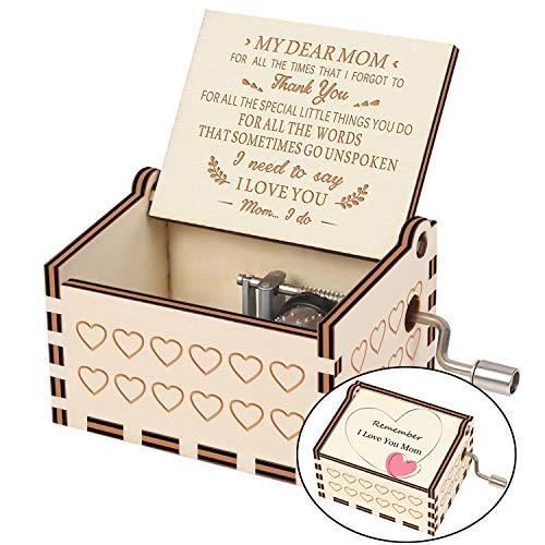 Laser Engraved Musical Box