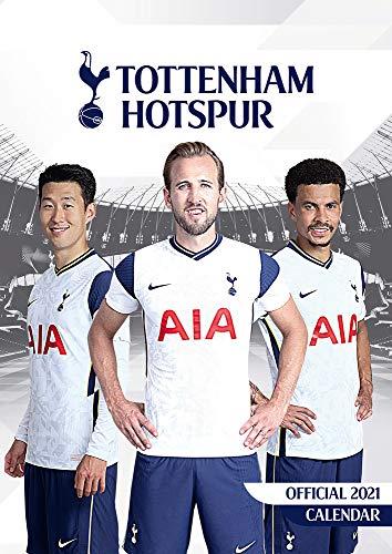 Official Tottenham Hotspur 2021 Calendar - A3 Wall Format Calendar