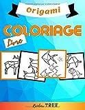 Livre Coloriage - Origami: Grand Livre de Coloriage de Mandalas Simples pour Enfant - Dessins Simples et Faciles - Idéal pour commencer le coloroage