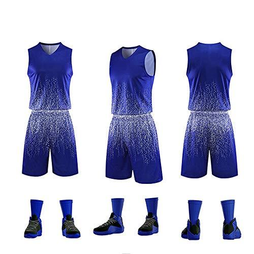 LHDDD NBA Baloncesto Uniformes Trajes de Entrenamiento Personalizados, Trajes de competición, Transpirables y de Secado rápido Sudadera Transpirable Camiseta Deportiva de Verano 1-XXL