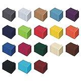 10er Pack Waschhandschuh Set - 10 Waschhandschuhe 15x21 cm -