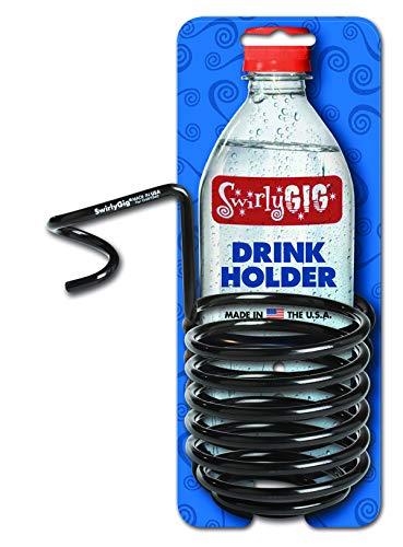 SwirlyGig SG2000 II Drink Holder for 1 Tubing, Black