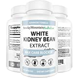 White Kidney Bean Extract (90 Capsules) 100% Pure Carb Blocker and Inhibitor, Fat