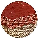 Alfombras de área Dormitorio Trama pintada tradicional japonesa...