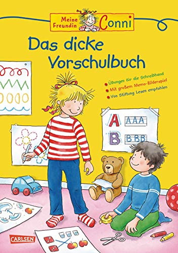 Conni Gelbe Reihe: Lernspaß - Das dicke Vorschulbuch: Kinderbeschäftigung ab 5