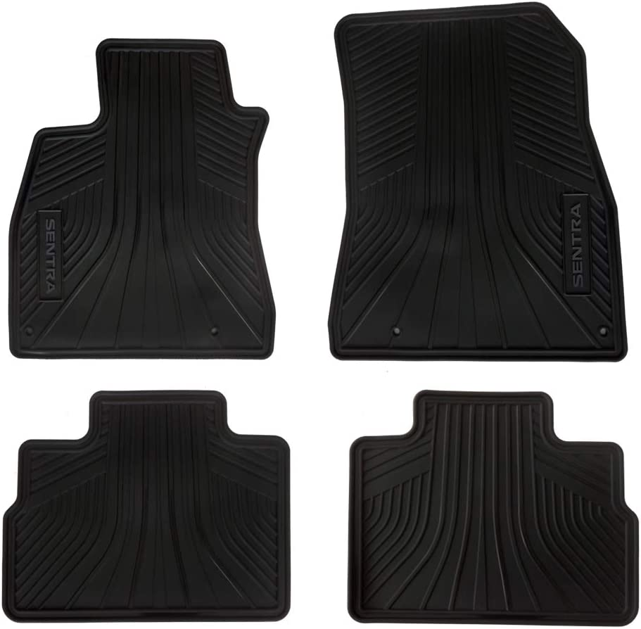Car Floor NEW before selling Mats for Sentra Nissan Weather All Rubber Genuine Ranking TOP18 OEM