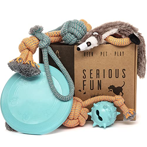 Keen.Pet.Play Puppy Dog Toys - Gift Box for Dog Training, Puppy Toys from 8...
