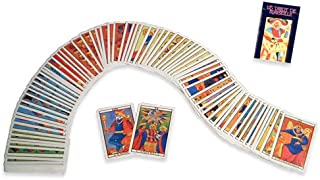 Mini - Mignon 78 Cards Tarot Marseille by Fournier