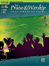 Top Praise & Worship Instrumental Solos for Strings: Violin (Book & CD) (Instrumental Play-Along)