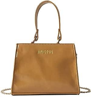 Waymine Women's Messenger Bag Solid Single Shoulder Slung Bag Wool Chain Bag Handbag Square Phone Coin bag Packet
