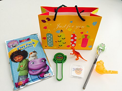 Affordable 8x Pack Happy Birthday Goody Bags; Pre Made & Filled with Toys, Filled Goody Bag / Loot B...