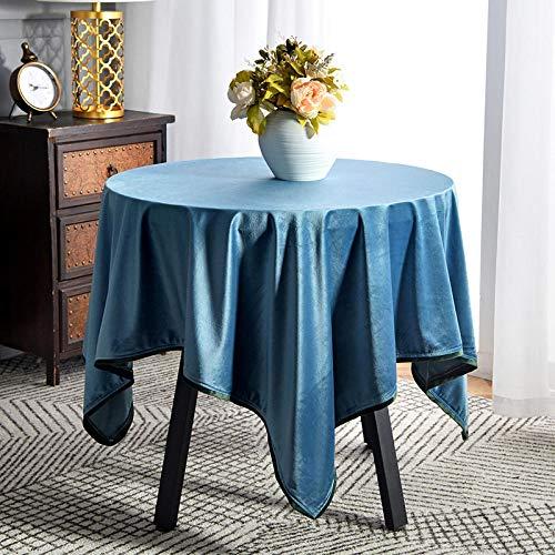 Ahuike Rechthoekige Tafelkleed Eettafel Cover Rimpel Gratis en Herbruikbaar voor Home Decor Keuken Tuin Outdoor Blauw 130×240cm
