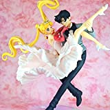 Yvonnezhang Figuarts Zero Chouette Sailor Moon & Chiba Mamoru Maskerade Maskenball Figur Modell Spielzeug -