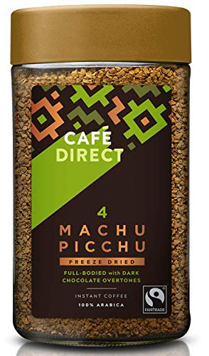 Caf?direct Fairtrade Machu Picchu Instant Coffee, 600 g, Pack of 6